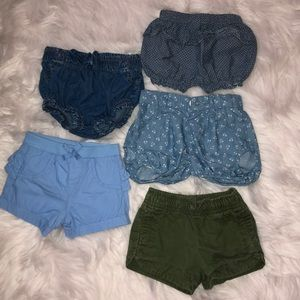 Shorts for a baby girl